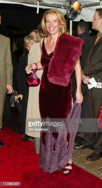 "Emma Thompson during ""Love Actually"" New York Premiere at Ziegfeld Theatre in New York City, New York, United States."