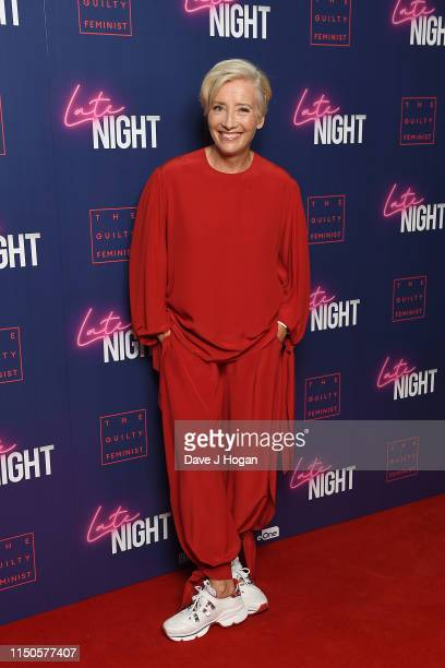 Emma Thompson during the Late Night Gala screening at Picturehouse Central on May 20 2019 in London England