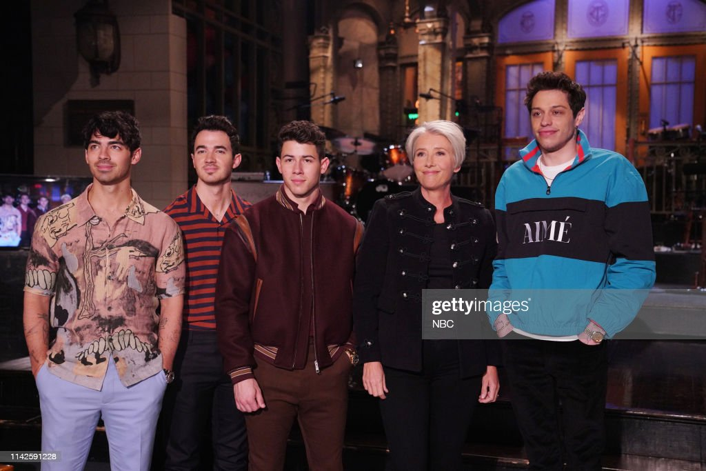 "NY: NBC'S ""Saturday Night Live"" - Emma Thompson, The Jonas Brothers"