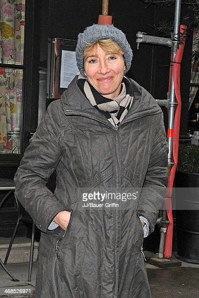 Emma Thompson is seen on March 09 2013 in London United Kingdom