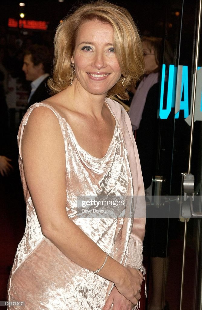 Emma Thompson, Love Actually Movie Premiere At The Odeon Leicester Square, London