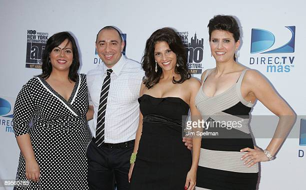 Emma Velez CoExecutive Director of The New York International Latino Film Festival Liz Gardner Calixto Chincilla Darlene Rodriguez and CoExecutive...