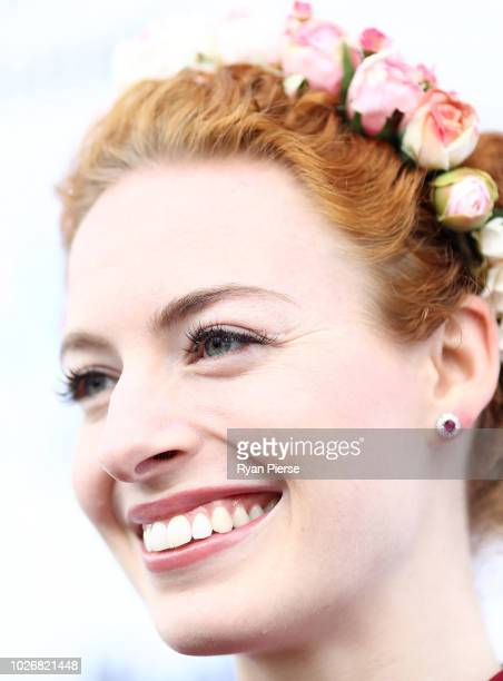 Emma Watkins of the Wiggles attends the Women of the Future Awards at Quay on September 5 2018 in Sydney Australia