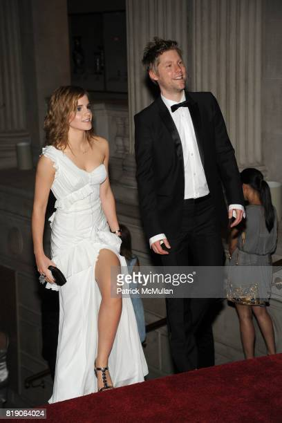 Emma Watson and Christopher Bailey attend THE METROPOLITAN MUSEUM OF ART'S Spring 2010 COSTUME INSTITUTE Benefit Gala at THE METROPOLITAN MUSEUM OF...