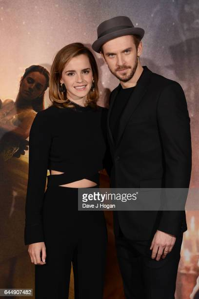 Emma Watson and Dan Stevens attend the photocall for Beauty And The Beast at The Corinthia Hotel on February 24 2017 in London England