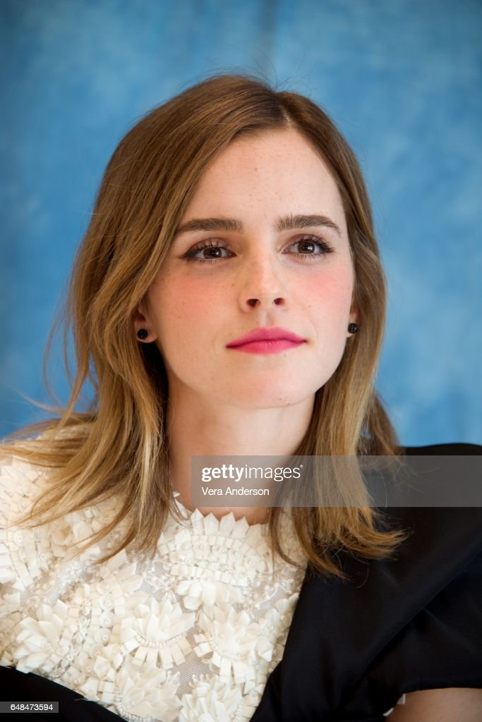 'Beauty and the Beast' Press Conference : News Photo