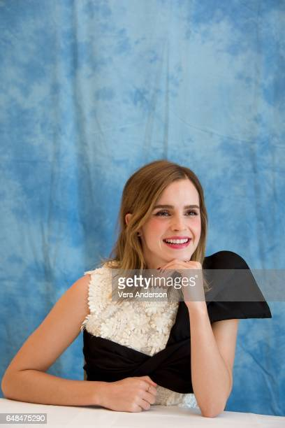 Emma Watson at the Beauty and the Beast Press Conference at the Montage Hotel on March 5 2017 in Beverly Hills California