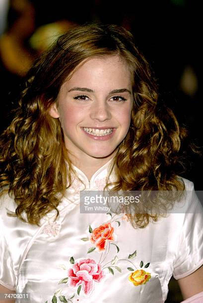 Emma Watson at the Odeon Leicester Square in London United Kingdom