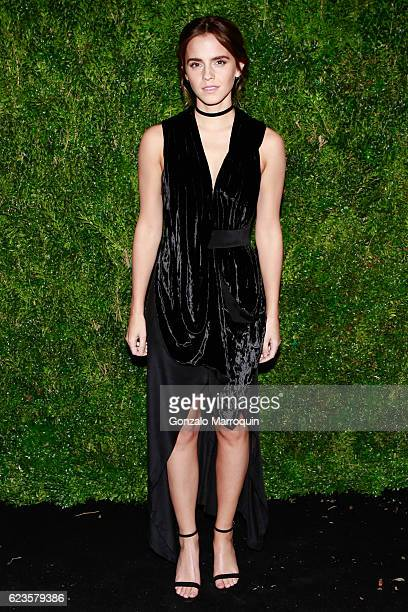 Emma Watson at theThe Museum of Modern Art Film Benefit A Tribute to Tom Hanks at The Museum of Modern Art on November 15 2016 in New York City