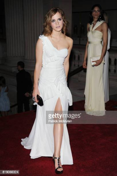 Emma Watson attend THE METROPOLITAN MUSEUM OF ART'S Spring 2010 COSTUME INSTITUTE Benefit Gala at THE METROPOLITAN MUSEUM OF ART on May 3rd 2010 in...