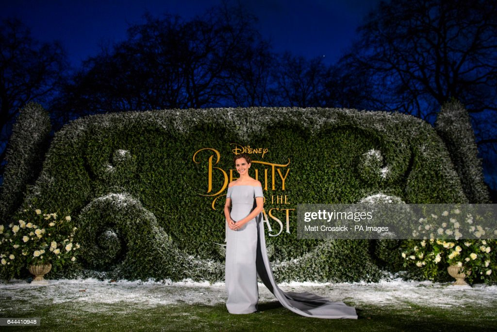 Beauty and The Beast Launch Event - London : News Photo