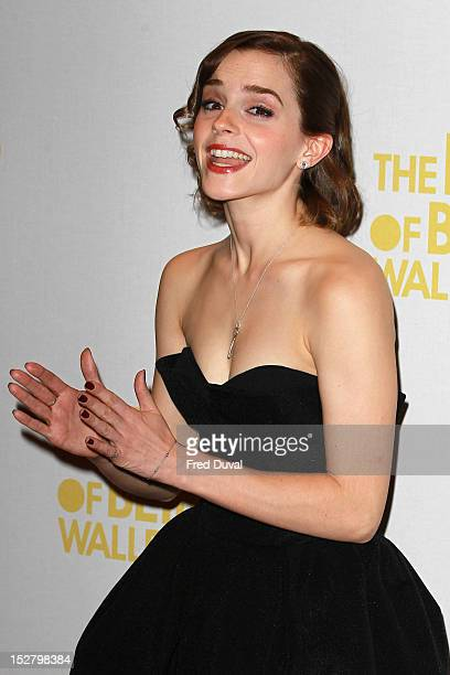 Emma Watson attends a special screening of 'The Perks of Being The Wallflower' at The Mayfair Hotel on September 26, 2012 in London, England.