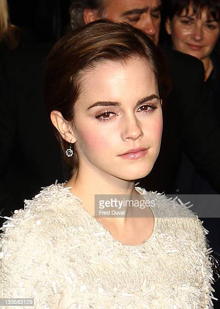 Emma Watson attends My Week With Marilyn UK Film Premiere at Empire Leicester Square on November 20 2011 in London England
