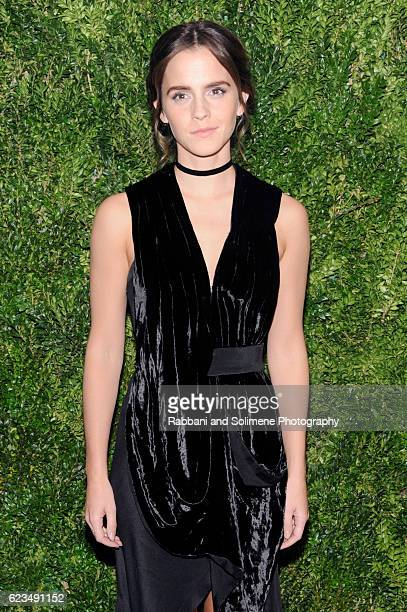 Emma Watson attends the 2016 Museum Of Modern Art Film Benefit presented by Chanel A Tribute To Tom Hanks at Museum of Modern Art on November 15 2016...