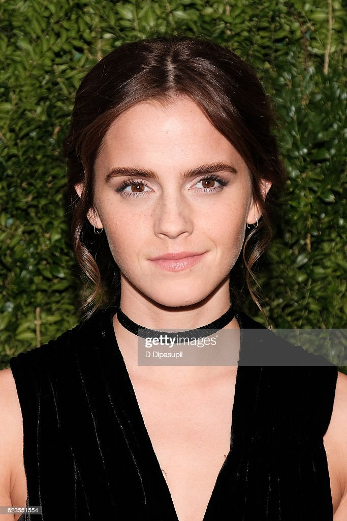 Emma Watson attends the 2016 Museum of Modern Art Film Benefit presented by Chanel - A Tribute to Tom Hanks at Museum of Modern Art on November 15, 2016 in New York City.
