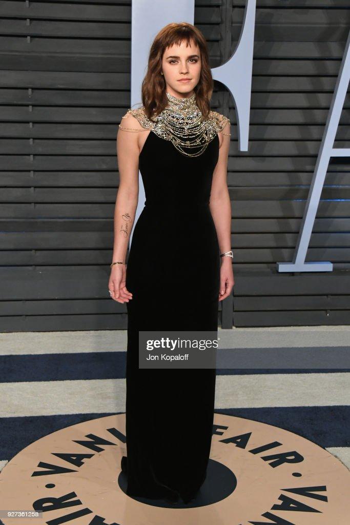 2018 Vanity Fair Oscar Party Hosted By Radhika Jones - Arrivals : Foto di attualità