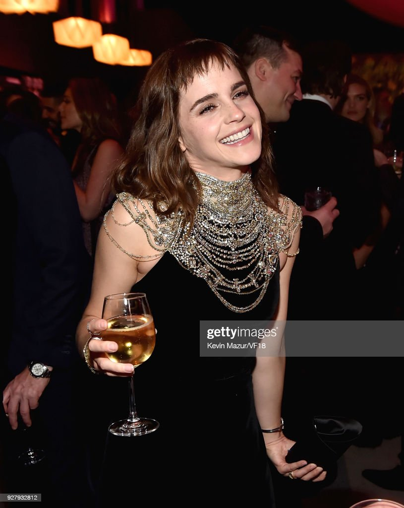 2018 Vanity Fair Oscar Party Hosted By Radhika Jones  - Inside : News Photo