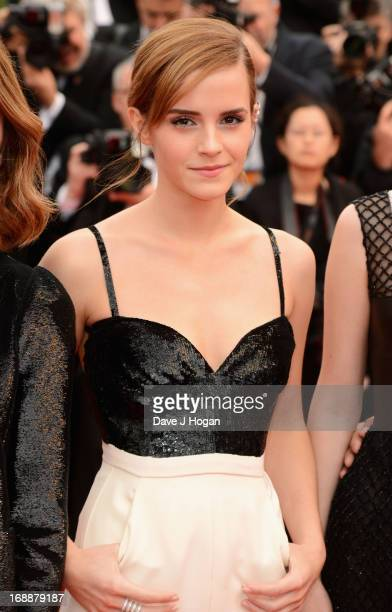 Emma Watson attends 'The Bling Ring' premiere during The 66th Annual Cannes Film Festival at the Palais des Festivals on May 16 2013 in Cannes France