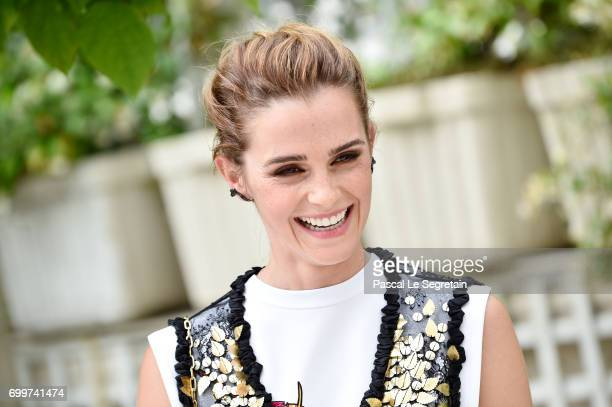 "Emma Watson attends ""The Circle"" Paris Photocall at Hotel Le Bristol on June 22, 2017 in Paris, France."