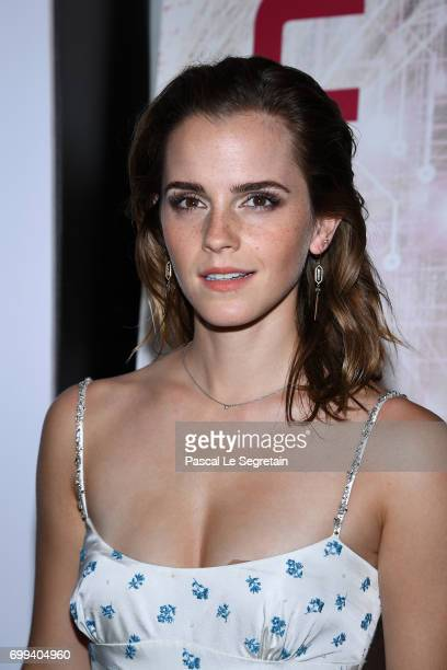 Emma Watson attends The Circle Premiere at Cinema UGC Normandie on June 21 2017 in Paris France