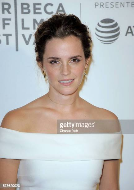 Emma Watson attends 'The Circle' screening during the 2017 Tribeca Film Festival at BMCC Tribeca PAC on April 26 2017 in New York City