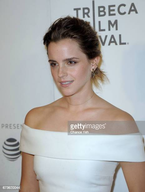 Emma Watson attends The Circle screening during the 2017 Tribeca Film Festival at BMCC Tribeca PAC on April 26 2017 in New York City