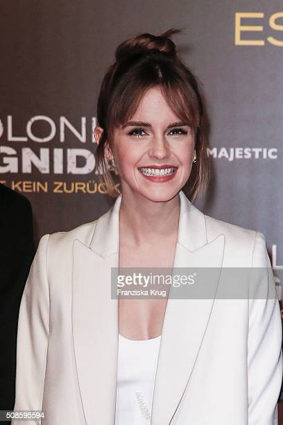 Emma Watson attends the 'Colonia Dignidad Es gibt kein zurueck' Berlin Premiere on February 5 2016 in Berlin Germany