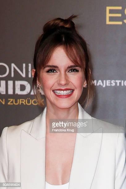 Emma Watson attends the 'Colonia Dignidad Es gibt kein zurueck' Berlin Premiere on February 5 2016 in Berlin Germany