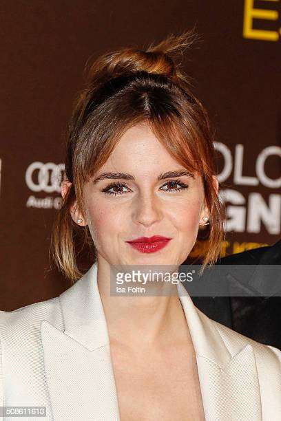 Emma Watson attends the 'Colonia Dignidad Es gibt kein zurueck' Berlin Premiere on February 05 2016 in Berlin Germany