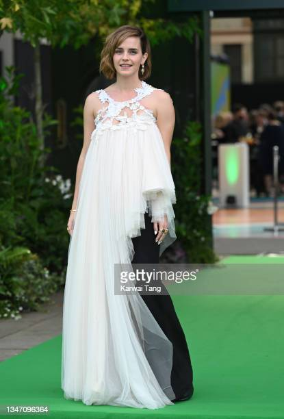 Emma Watson attends the Earthshot Prize 2021 at Alexandra Palace on October 17, 2021 in London, England.