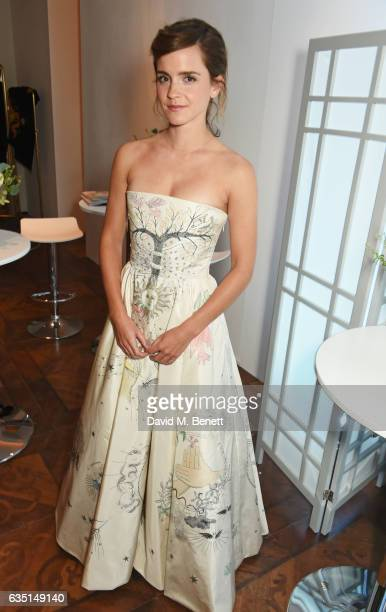 Emma Watson attends the Elle Style Awards 2017 on February 13, 2017 in London, England.