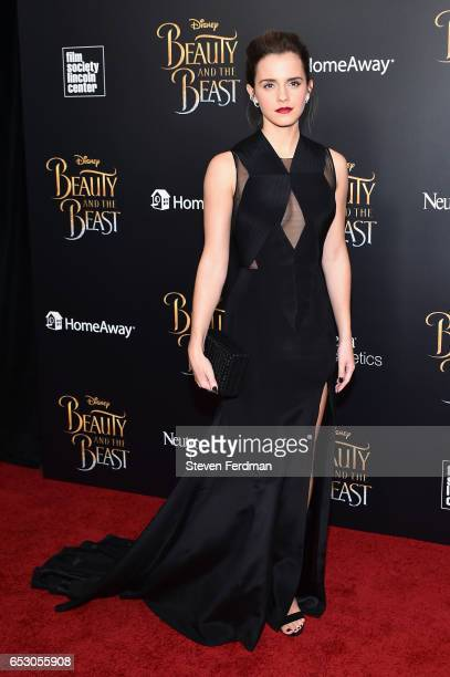 Emma Watson attends the New York Screening of 'Beauty And The Beast' at Alice Tully Hall on March 13 2017 in New York City