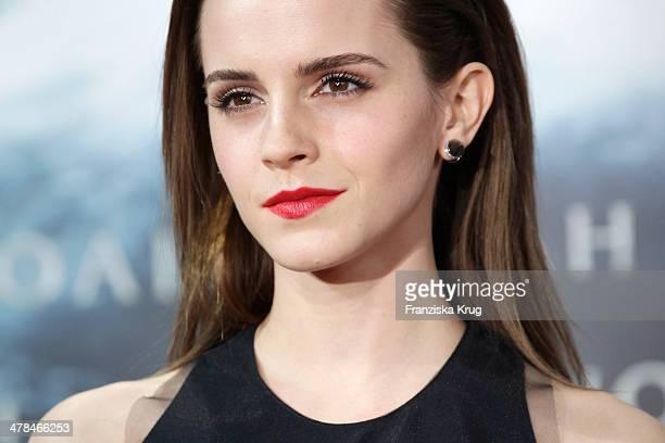 Emma Watson attends the 'Noah' Germany Premiere at Zoo Palast on March 13 2014 in Berlin Germany