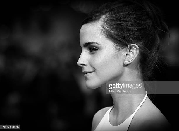 Emma Watson attends the UK premiere of Noah at Odeon Leicester Square on March 31 2014 in London England