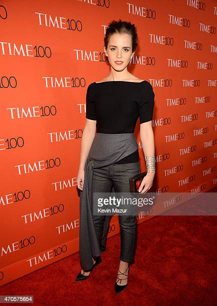 Emma Watson attends TIME 100 Gala TIME's 100 Most Influential People In The World at Jazz at Lincoln Center on April 21 2015 in New York City