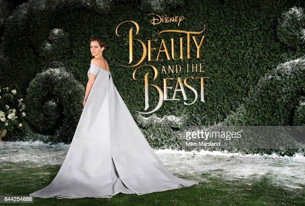 Emma Watson attends UK launch event for 'Beauty And The Beast' at Spencer House on February 23 2017 in London England