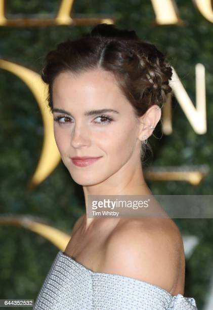 Emma Watson attends UK launch event for Beauty And The Beast at Spencer House on February 23 2017 in London England