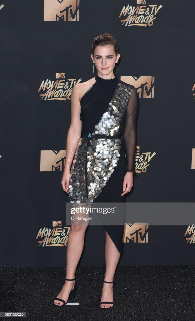 2017 MTV Movie And TV Awards - Press Room : Fotografía de noticias
