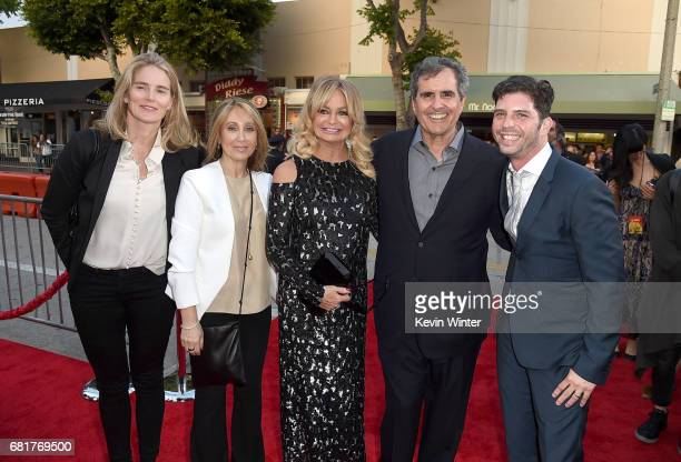 Emma Watts President of Production 20th Century Fox Stacey Snider Chairman/CEO 20th Century Fox actress Goldie Hawn producer Peter Chernin and...