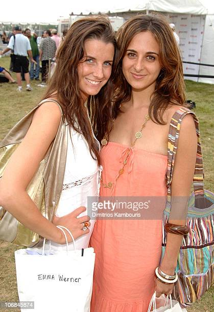 Emma Werner and Alyssa Shelasky during Super Saturday 8 The World Famous Designer Garage Sale Benefiting The Ovarian Cancer Research Fund Hosted by...
