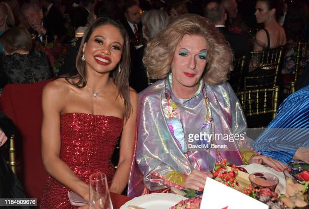 Emma Weymouth and Grayson Perry attend the 65th Evening Standard Theatre Awards in association with Michael Kors at the London Coliseum on November...
