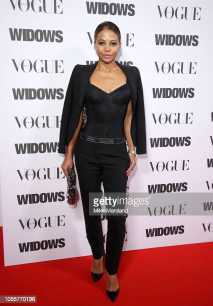 Emma Weymouth attends a special screening of 'Widows' in association with Vogue at Tate Modern on October 31 2018 in London England