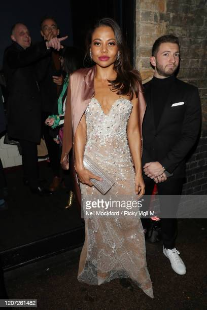 Emma Weymouth attends a Warner Records BRIT Awards 2020 afterparty at Chiltern Firehouse on February 18 2020 in London England
