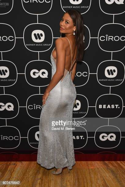 Emma Weymouth attends the Brits Awards 2018 After Party hosted by Warner Music Group Ciroc and British GQ at Freemasons Hall on February 21 2018 in...