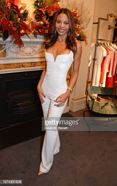 Emma Weymouth attends the launch of new book Provoke Attract Seduce by Roland Mouret on December 17 2018 in London England