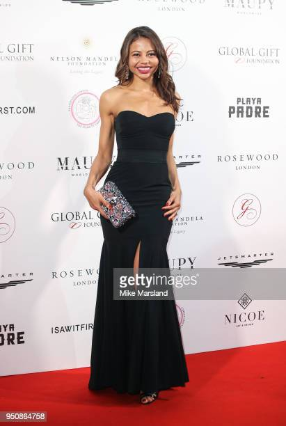 Emma Weymouth attends The Nelson Mandela Global Gift Gala at Rosewood London on April 24 2018 in London England