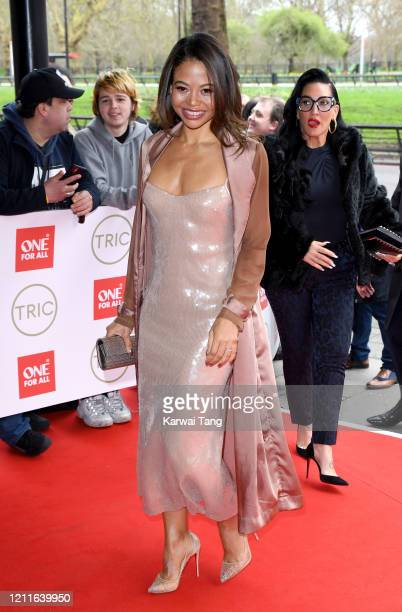 Emma Weymouth attends the TRIC Awards 2020 at The Grosvenor House Hotel on March 10, 2020 in London, England.