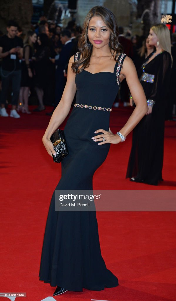 ba55ab2df0640b Emma Weymouth attends the UK Premiere of  A Star Is Born  at Vue ...