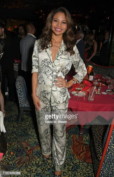 Emma Weymouth attends Virgil Abloh Live in The Nightclub at Annabel's on June 27 2019 in London England