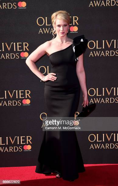 Emma Williams attends The Olivier Awards 2017 at Royal Albert Hall on April 9 2017 in London England
